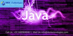 #javaTraininginChennai     VKV Technologies provide best Java Training in Chennai for candidates with real time environment at its best. VKV Technologies is one of the best Java Training Instit http://www.vkvtechnologies.com/services/java-training-in-chennai/
