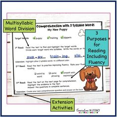 Improve Comprehension by using fluency Strategies for struggling readers, guided reading, and reading interventions. #firstgrade #secondgrade #thirdgrade #fourthgrade #fifthgrade #conversationsinliteracy #phonics #fluency #comprehension #classroom #elementary #fluencystrategies #anchorcharts #readinginterventions #guidedreading #sightwords 1st grade, 2nd grade, 3rd grade, 4th grade, 5th grade
