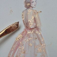 silence is golden... paperfashion