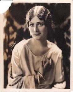 UNIDENTIFIED SILENT FILM #26, Original 1910s Freulich Photo, SYLVIA BREAMER?