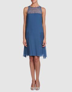 BGN in Slate Blue - I like the big pockets and the crochet work.  $109