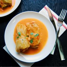 Lithuanian Cabbage Rolls (Balandeliai) #foodgawker