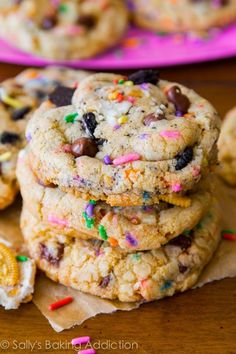 An easy recipe for homemade soft-baked cake batter oreo cookies.