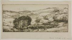 Donald Shaw MacLaughlan American, born Canada, 1876-1938, Cornish Landscape, No. 2