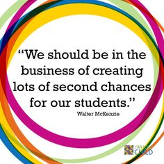 Lots of Second Chances on The Whole Child Blog