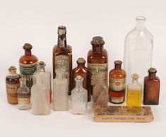 Image result for antique medicine bottles