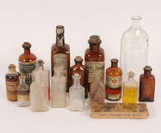 Antique Medicine Bottles Chicago, IL Pharmacy