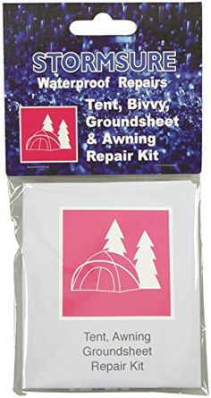 Storm Sure Tent and Awning Repair Kit - White