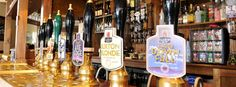 "On draught real-ales - only available in the ""Real Ale capital of the world"", Derby!"