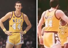 Jerry West all-star uniform had his name on both sides of his jersey d62f019e1
