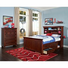 Great bed and dresser set from Costco