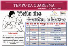 PARÓQUIAS DO PORTO SANTO: Visita aos doentes 2014 - Quaresma