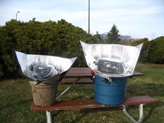 Windshield Shade Solar Cooker - Solar Cooking