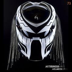"Options airbrushing helmet ""Predator""   Nitrinos"