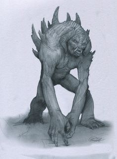 Tusked Guardian by Mavros-Thanatos.deviantart.com on @deviantART