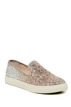 Eve Glitter Slip-On Sneaker by Betsey Johnson on @nordstrom_rack