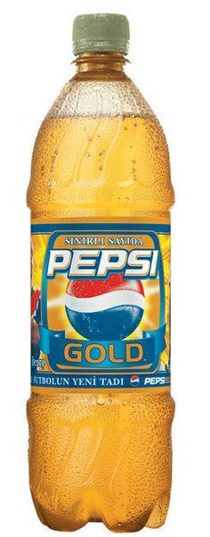 Sınırlı sayıdaki Pepsi Gold