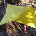 How to make an easy DIY Camping Hammock Tarp: MYOG