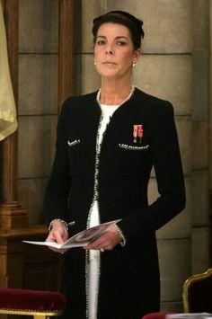 November 19, 2009 - Caroline at mass for Monaco National Day