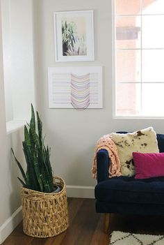 DIY Embroidered Canvas feature image