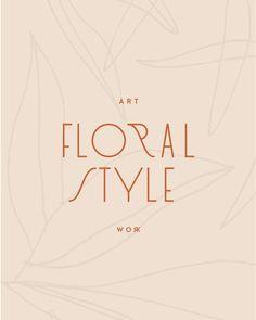 The post Wunderschönes florales Logo-Design, feminines Branding. & Logo & Design Inspiration appeared first on Logo . Logo Branding, 2 Logo, Beste Logos, Typographie Logo, Inspiration Typographie, Designers Gráficos, Logo Simple, Unique Logo, Inspiration Logo Design
