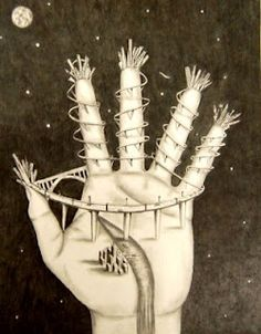 Example of Handscape drawing project