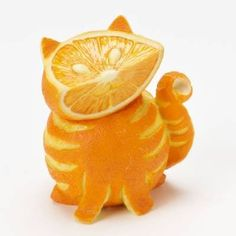 Home Grown from Enesco Orange Tabby Cat Figurine 3.2 IN - Enesco, Figurine, From, Grown, Home, Orange, Tabby