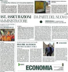 La responsabile del Dipartimento Lavoro del Partito Democratico dell'Umbria, Serena Santagata, ha partecipato al Tavolo nazionale sul futuro della siderurgia. Da tempo seguita anche la vicenda Ex Merloni di Nocera umbra.