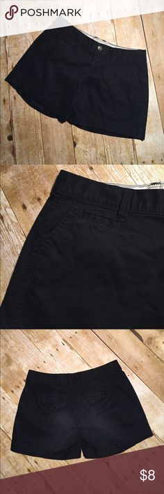 Old Navy Favorite Khakis 5 inch inseam. 14 inch waist. Color black. Old Navy. Size. 1. Old Navy Shorts