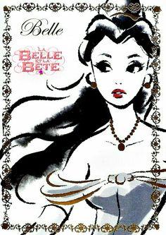 """✯ Princesse Belle ✯ ~ Film d'Animation : ♔ La Belle et la Bête ♔ ~ Logo """"La Belle et la Bête"""" ajouté par : ⭐LølY_✍⭐ ~ [❤_Disney_❤]"""