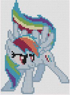 MLP Rainbow Dash pattern by Stinnen on deviantART