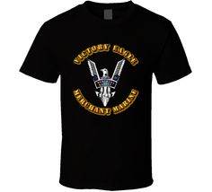 Merchant Marine - Victory Eagle - Black via Military Insignia Clothing and Products. Click on the image to see more!