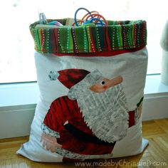 made by ChrissieD: There's No Soot In This Santa Sack!!!