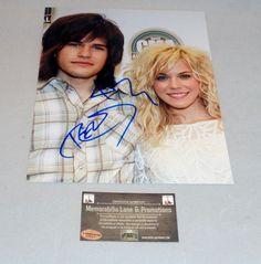 Reid & Kim Perry THE BAND PERRY autographed 8x10 COA Memorabilia Lane & Promotions