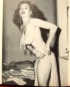 "Tempest Storm ""Striparama 2/9 1966. Burlesque Stars & Strip Tease."