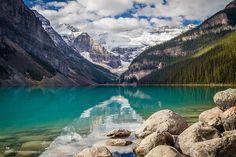 Lugares para viajar: Lago Loiuse - Banff no Canadá