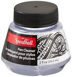 Speedball 2-Ounce Pen Cleaner Speedball http://www.amazon.com/dp/B003IGM0B0/ref=cm_sw_r_pi_dp_g21Vvb0HGDN4W