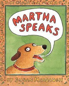 """Martha Speaks"" - Susan Meddaugh  (1992, Picture Books)"