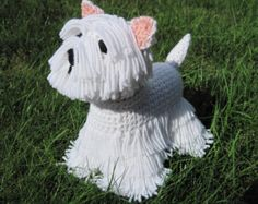 Beagle PDF Crochet Pattern - Digital Download - ENGLISH ONLY by ScareCrowOriginals
