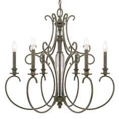 Shop for Capital Lighting Everleigh Collection 6-light French Greige Chandelier. Get free shipping at Overstock.com - Your Online Home Decor Outlet Store! Get 5% in rewards with Club O!