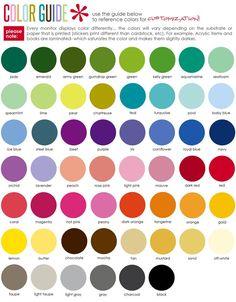 Erin Condren 2014-2015 life planner -color guide