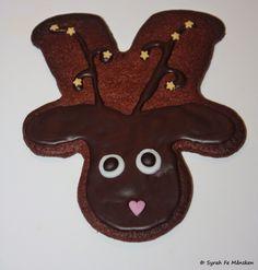 Vegan - tagein, tagaus : Rudolph Reindeer Cookies / Rudolf Ren Pepparkakor - Vegane Weihnachtsbäckerei IV