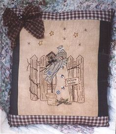 Winter Welcome Stitchery