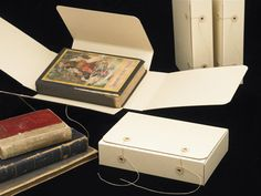 Book Boxes Storage | ... boxes. A rare book box offers long-term stability during storage and