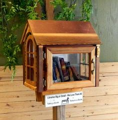 Share Your Love For Reading By Building A Little Free Library In Your Community
