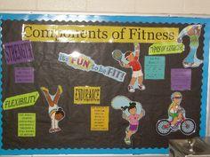 Middle School Health Bulletin Boards | Bulletin Board Ideas for Physical Education