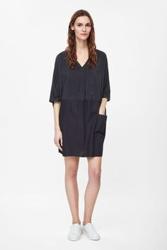 COS | Relaxed silk panel dress