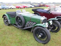 Fraser Nash TT replica 1933 at Goodwood revival 2013