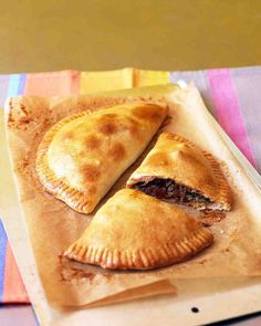 Empanadas. Freezer meal. No need to thaw before baking.