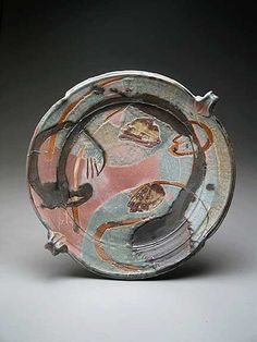 Josh DeWeese Platter by clayglazepots, via Flickr